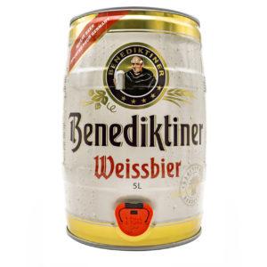 Benediktiner Weissbier 5 Litre Can