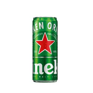 Heineken Lager, 330ml Sleek Can